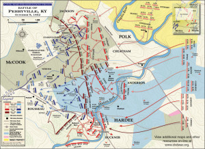 Click to zoom. Battle of Perryville.