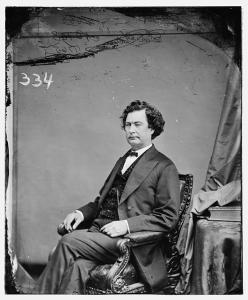 Illinois Governor Richard Yates. From the Library of Congress.  http://www.loc.gov/pictures/item/brh2003000700/pp/